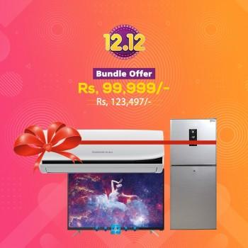 12.12 - Bundle Offer -Changhong Ruba - L32G3EM -TV - REF - CHR-DD308SP -  AC-12JTW