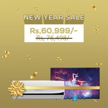 Chnaghong Ruba - New Year Bundle Offer -  TV - L32G3EM -  AC-12JTW